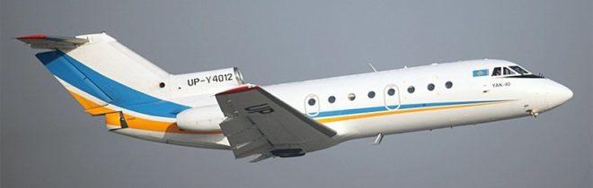 Самолет Як-40 Zhez Air