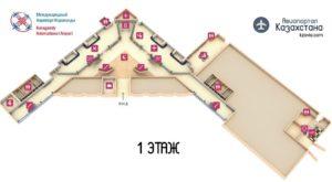 Схема 1 этажа