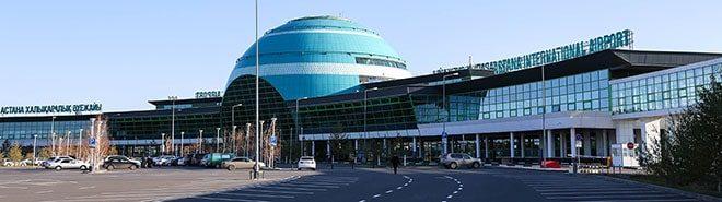 Фото аэропорта столицы Казахстана